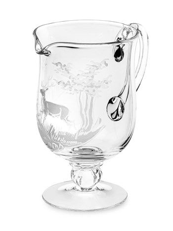 stag crystal pitcher