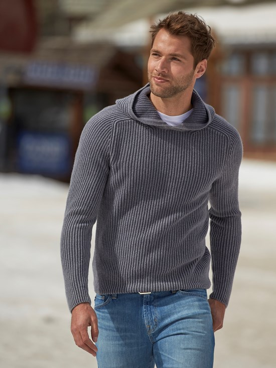pearson cashmere hooded sweater