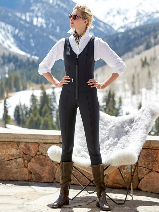 belina stretch ski suit