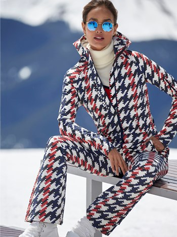 star stretch ski suit