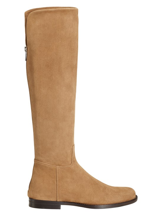 petra stretch suede boot