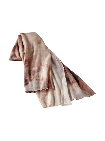 ombre cashmere scarf