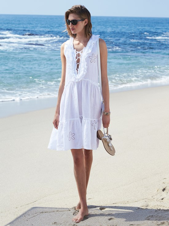 laurel linen dress