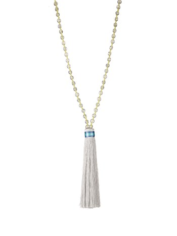 luz tassel necklace