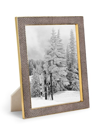 chocolate shagreen frame 8x10
