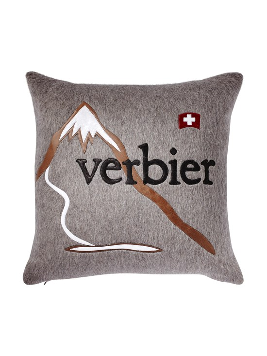 verbier mountain pillow