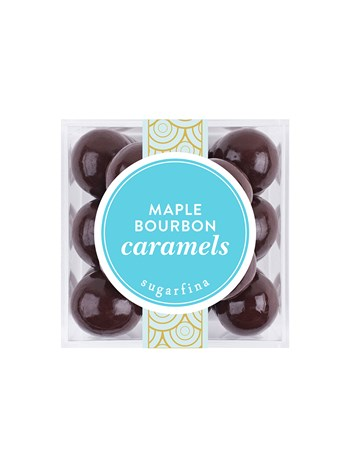 maple bourbon caramels