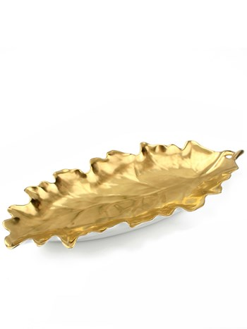 oak leaf dish