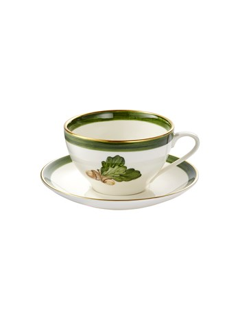 acorn cup and saucer