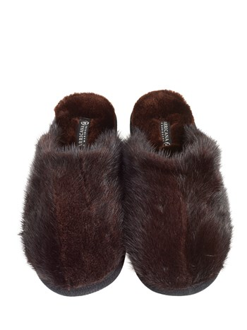 mink slipper