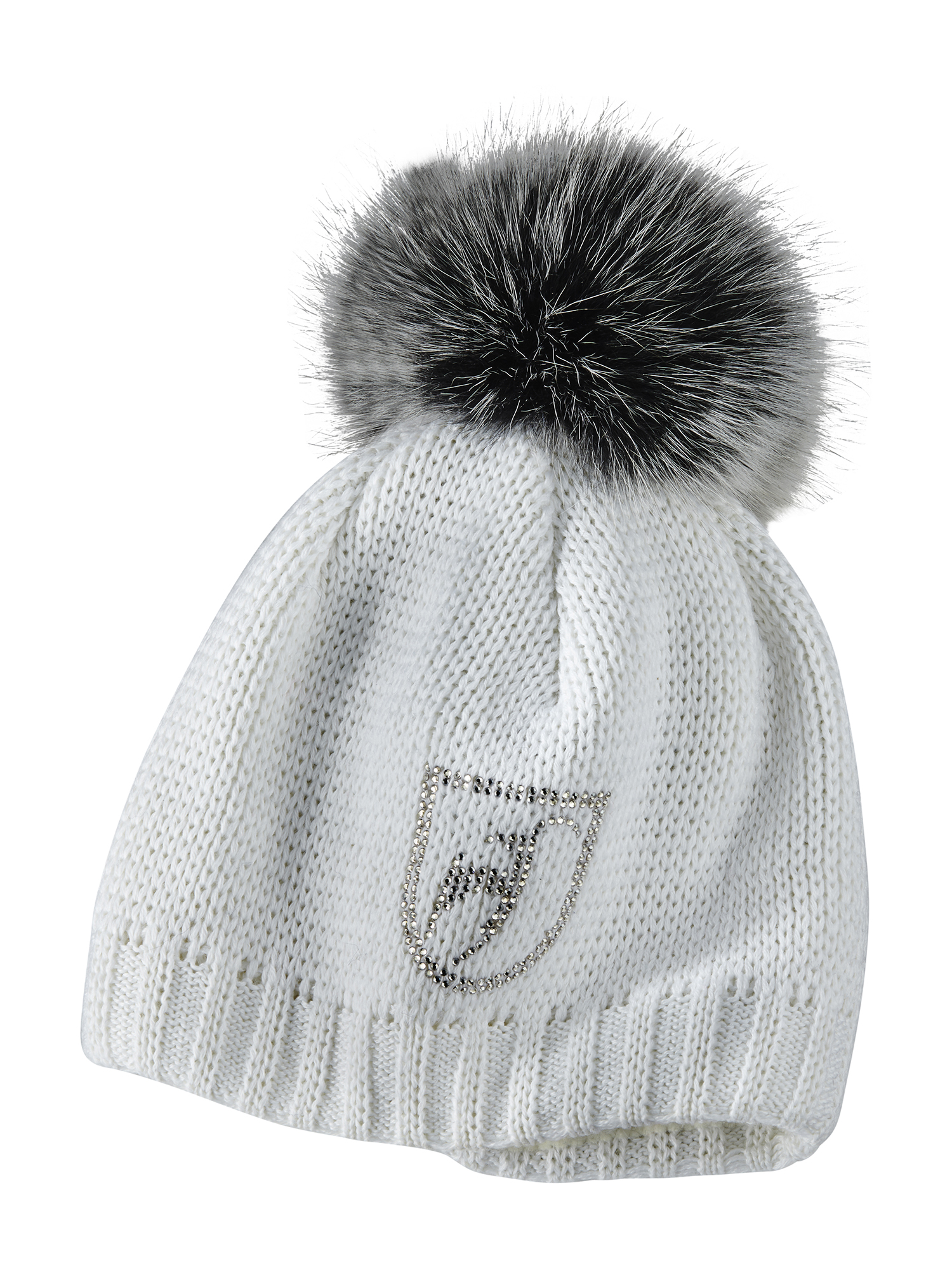 aed0fd05d swarovski crystal pom hat