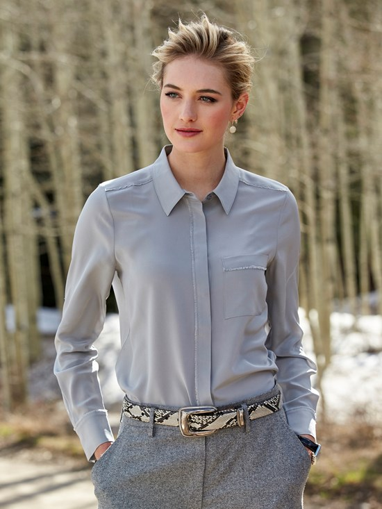 marysund silk blouse
