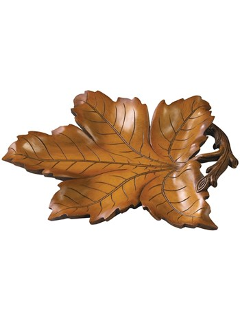 leaf tray brown