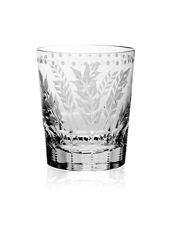 fern old fashion glass
