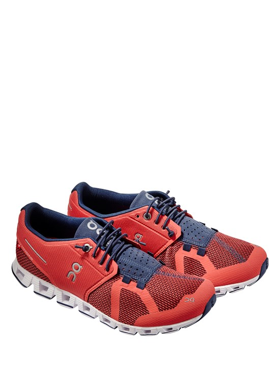 cloud coral/pacific running shoe