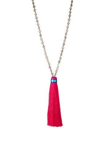 deva tassel necklace