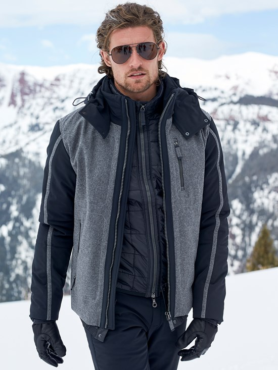 jake tec loden ski jacket
