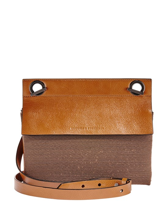 monili crossbody leather bag