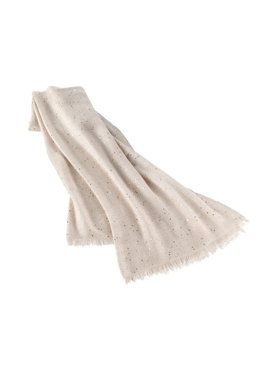 cashmere silk travel scarf