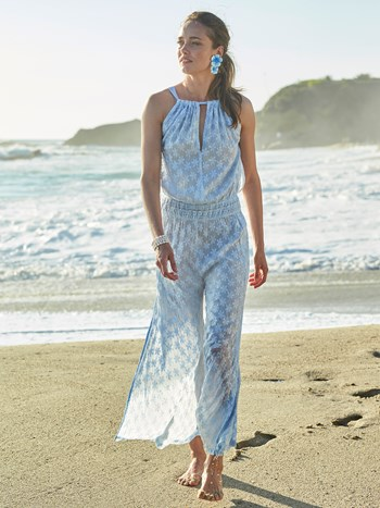 sorena cotton silk jumpsuit