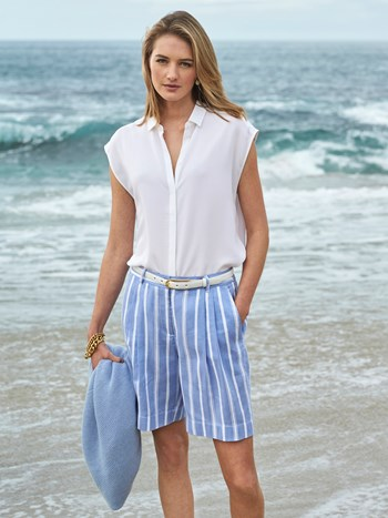 romee stripe short