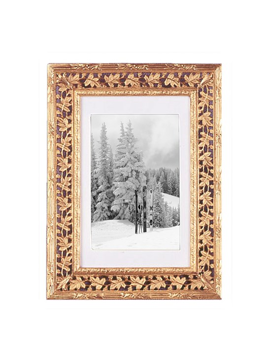 laurel leaves frame 4x6