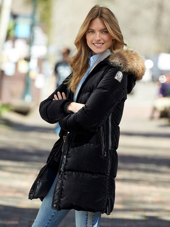 parajumpers velvet coat