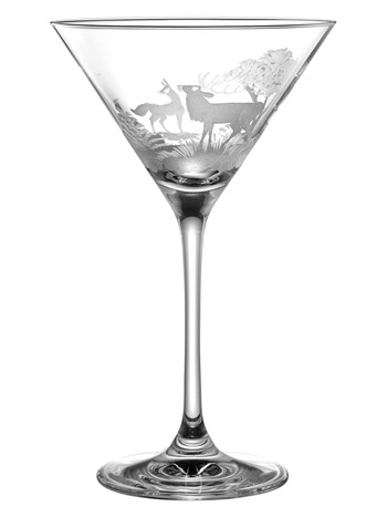 stag martini glass