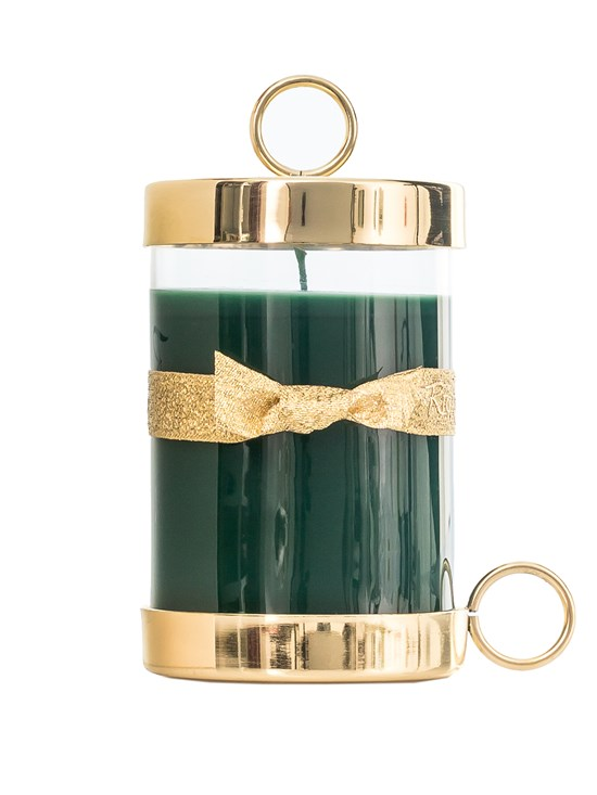 cyprès gold candle