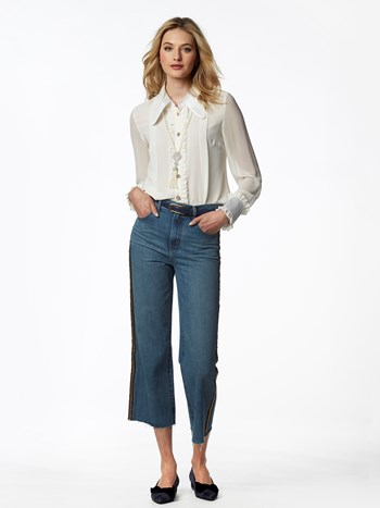 joan high rise crop jean