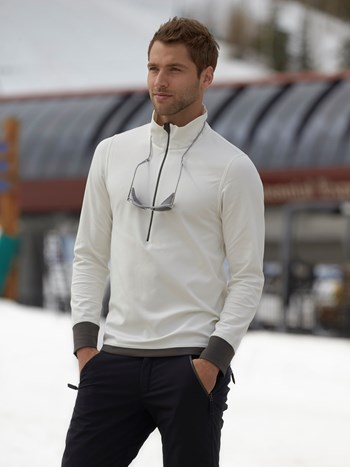 max half zip turtleneck