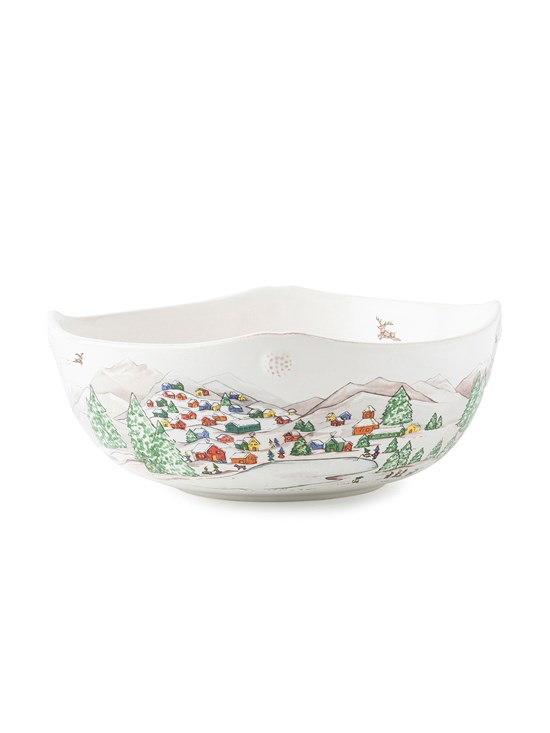 "north pole 10"" serving bowl"