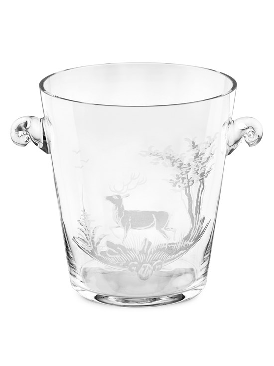 stag crystal ice bucket