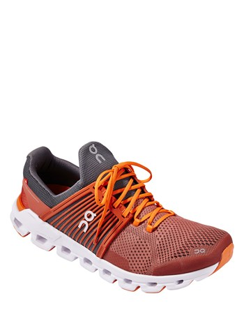 cloudswift rust/rock running shoe