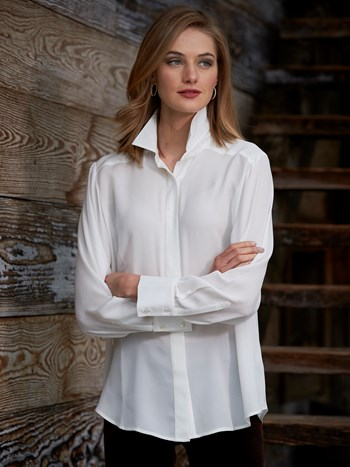 carlina silk blouse