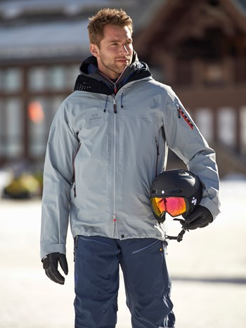 bec de rosses shell ski jacket