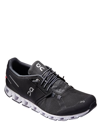 cloud black/white running shoe
