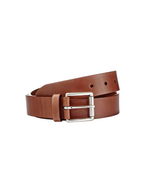 bridle soft leather belt