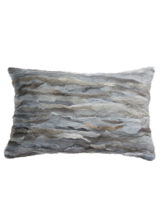 venezia mink grey pillow