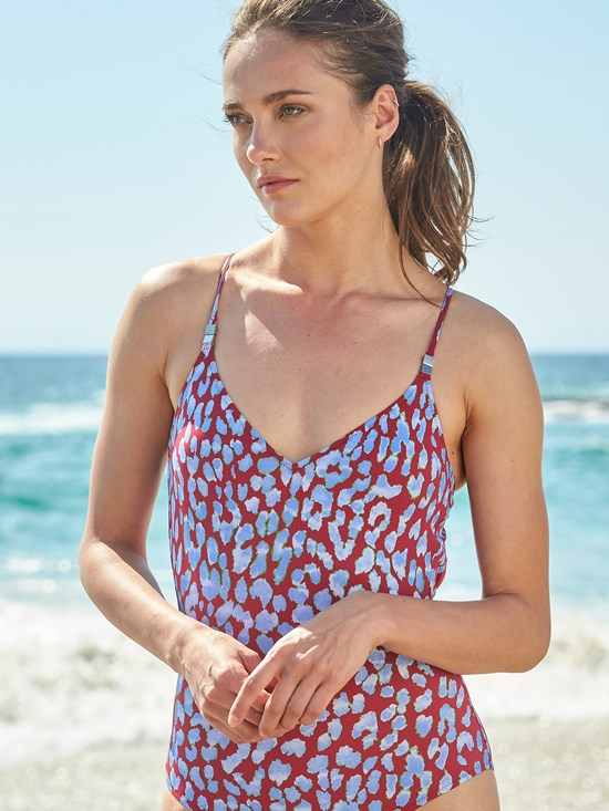 tahlia lea v neck one piece