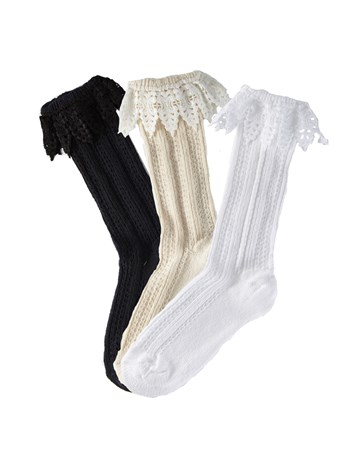 mountain lace sock