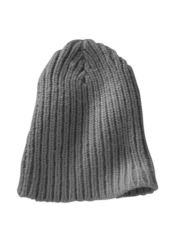 tower cashmere knit hat