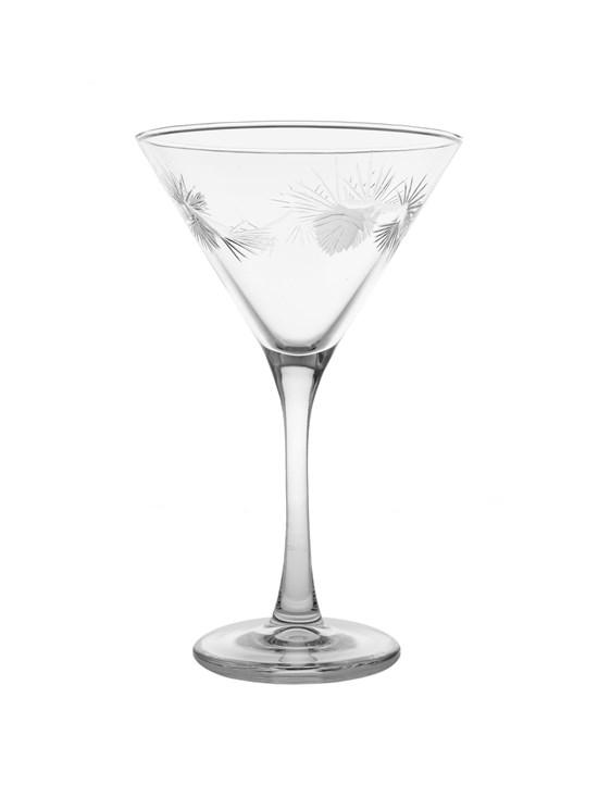 pine cone martini glass