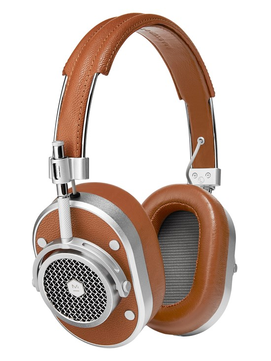 MH40 over-ear headphones brown