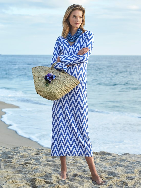 sogne chevron dress