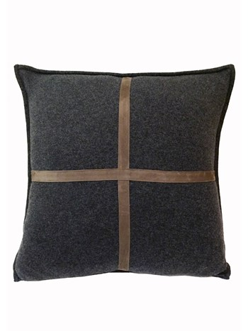 palermo cashmere suede pillow