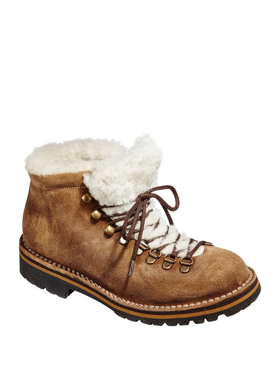 mountain suede hiker boot