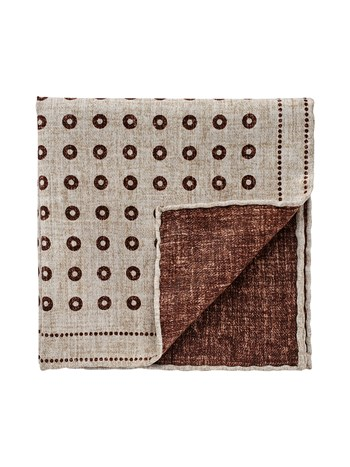 silk cotton pocket square
