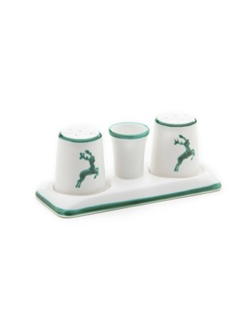 stag salt and pepper set