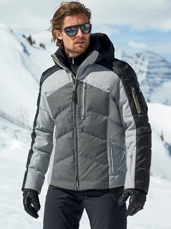 evan tec wool ski jacket